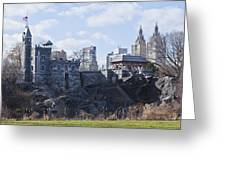 Central Park Castle Greeting Card