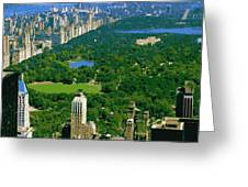 Central Park Color 16 Greeting Card