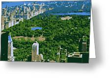 Central Park Color 6 Greeting Card