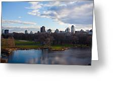 Central Park Greeting Card by Steven Gray