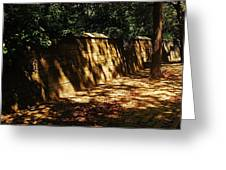 Central Park Wall Greeting Card