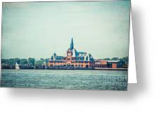 Central Railroad Terminal Of New Jersey Greeting Card