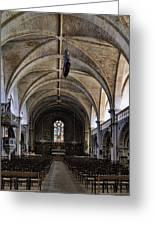 Centuries Old Church Greeting Card