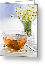 Chamomile Tea Greeting Card