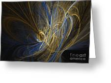 Champagne - Abstract Art Greeting Card