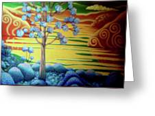 Changing Colours Greeting Card by Barbara Stirrup
