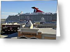 Channelside Tampa Greeting Card