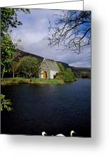 Chapel At Gougane Barra, Co Cork Greeting Card by The Irish Image Collection