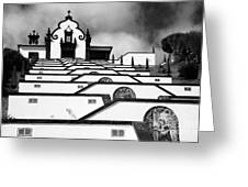 Chapel In Azores Greeting Card