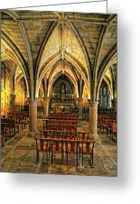 Chapel In Dordogne France Greeting Card