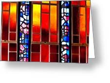 Chapel Shadows Greeting Card