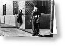 Chaplin: Modern Times, 1936 Greeting Card