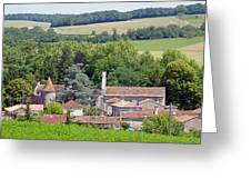 Charente Village Greeting Card