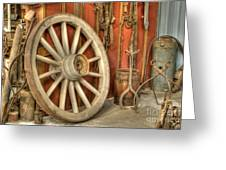 Chariot Wheel Greeting Card