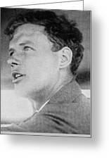 Charles Lindbergh, Us Aviation Pioneer Greeting Card