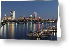 Charles River Yacht Club Greeting Card by Juergen Roth