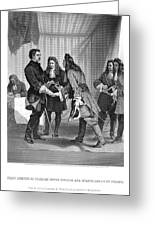 Charles Xii And Stanislas I Greeting Card