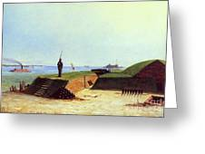 Charleston Battery, 1864 Greeting Card