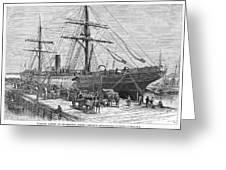 Charleston: Cotton Ship Greeting Card