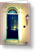 Charleston Door 1 Greeting Card