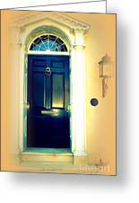 Charleston Door 3 Greeting Card