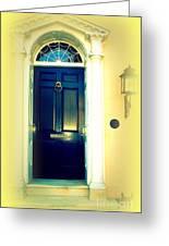 Charleston Door 4 Greeting Card