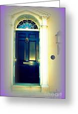 Charleston Door 6 Greeting Card