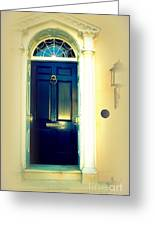 Charleston Door 7 Greeting Card