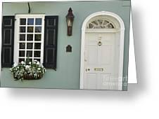 Charleston Doorway - D006767 Greeting Card