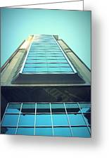 Charlotte Offices Greeting Card by Kenneth Mucke