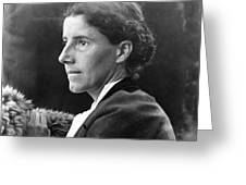 Charlotte Perkins Gilman Greeting Card