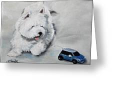Chasing Cars Greeting Card