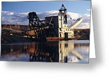 Chatanika Gold Dredge, Alaska Greeting Card