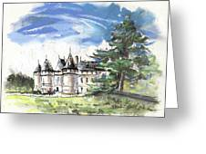 Chateau De Chaumont In France Greeting Card