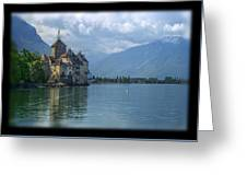 Chateau De Chillon Greeting Card by Matthew Green