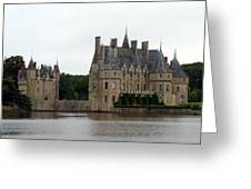 Chateau De La Bretesche Greeting Card