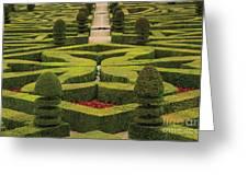 Chateau De Villandry Greeting Card