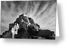 Chateau Des Baux Greeting Card
