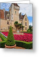 Chateau Des Milandes Greeting Card