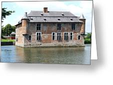 Chateau Feodal De Fernelmont Belgium Greeting Card