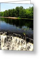 Chatfield Hollow Pond Greeting Card