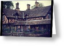 Chatsworth Estate Greeting Card by Chris Jones