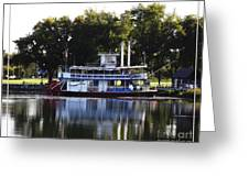 Chautauqua Belle On Lake Chautauqua Greeting Card