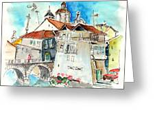 Chaves In Portugal 05 Greeting Card