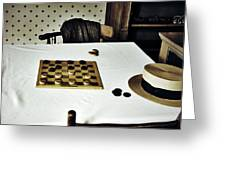 Check Mate Greeting Card