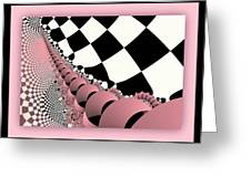 Checkers The Mouse Mechanical Tail Greeting Card