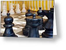 Checkmate Greeting Card by Christina Vodas