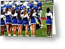 Cheerleaders Greeting Card