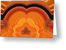Cheese Cloth Sunrise Greeting Card