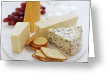 Cheese Selection Greeting Card